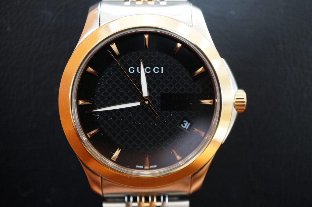 No.868  GUCCI (グッチ) クォーツ腕時計を修理しました