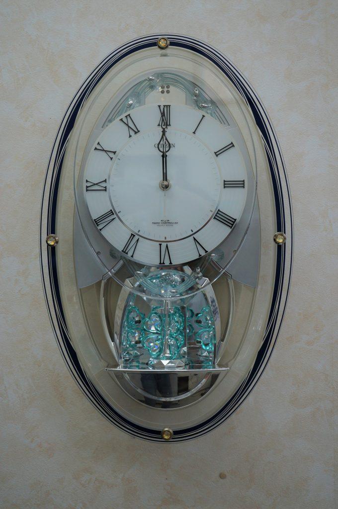 No.883  CITIZEN(シチズン)からくり 掛け時計を修理しました