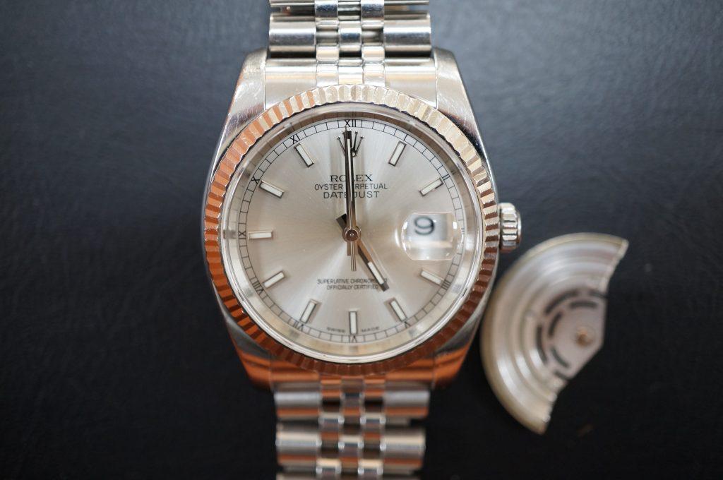 No.879  ROLEX (ロレックス ) 自動巻き腕時計を修理しました