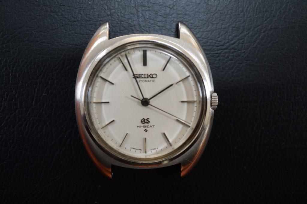 No.880  SEIKO GS (セイコー) 自動巻き腕時計を修理しました