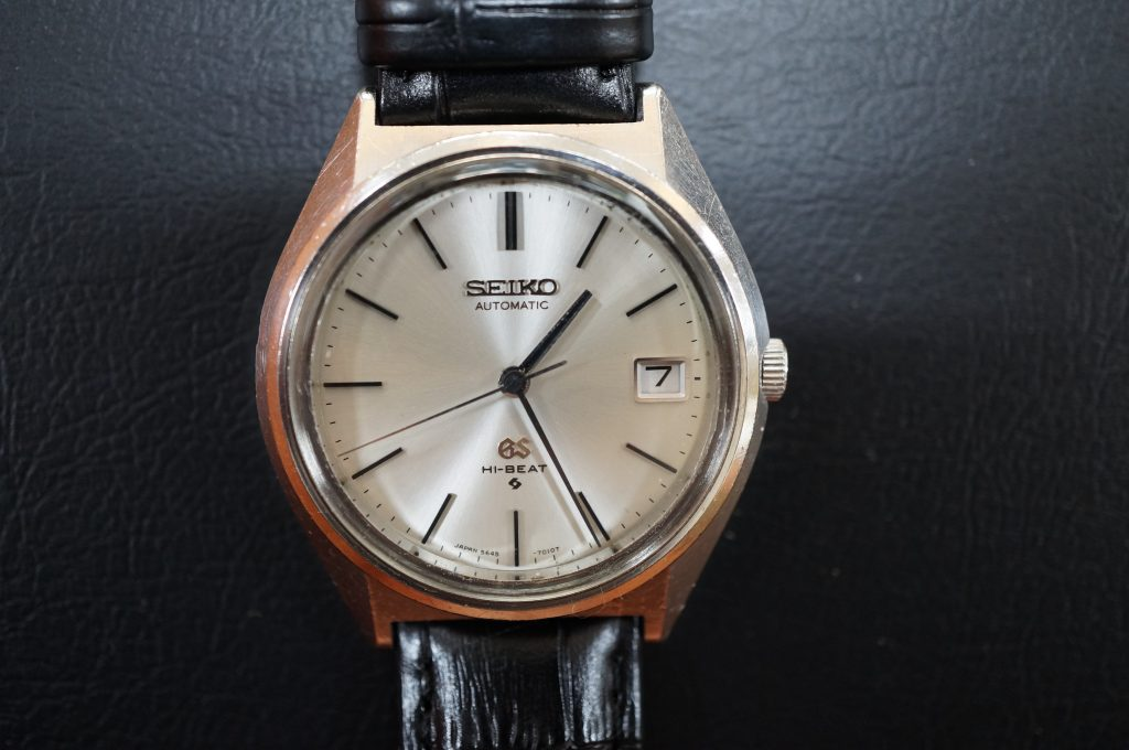 No.881  SEIKO GS (セイコー) 自動巻き腕時計を修理しました