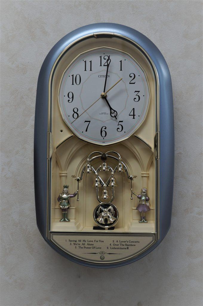 No.882  CITIZEN(シチズン)からくり 掛け時計を修理しました