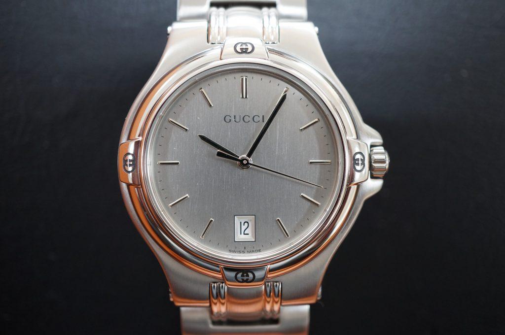 No.878  GUCCI (グッチ) クォーツ腕時計を修理しました