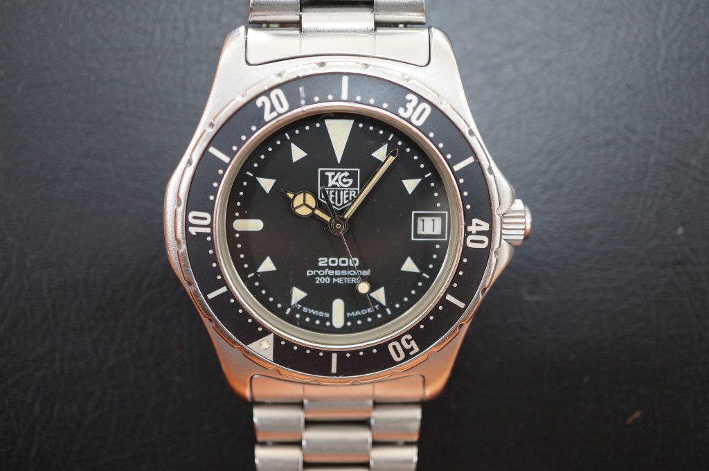 No.876  TAG HEUER (タグホイヤー) クォーツ腕時計を修理しました