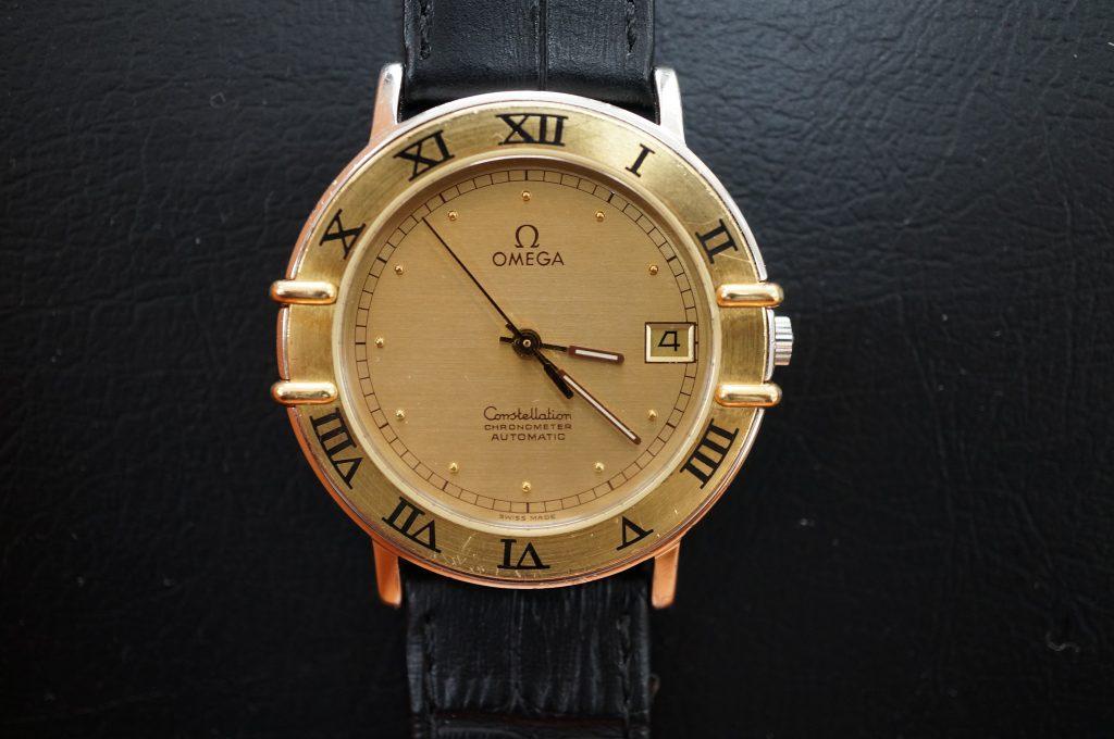 No.877  OMEGA (オメガ) 自動巻き腕時計を修理しました