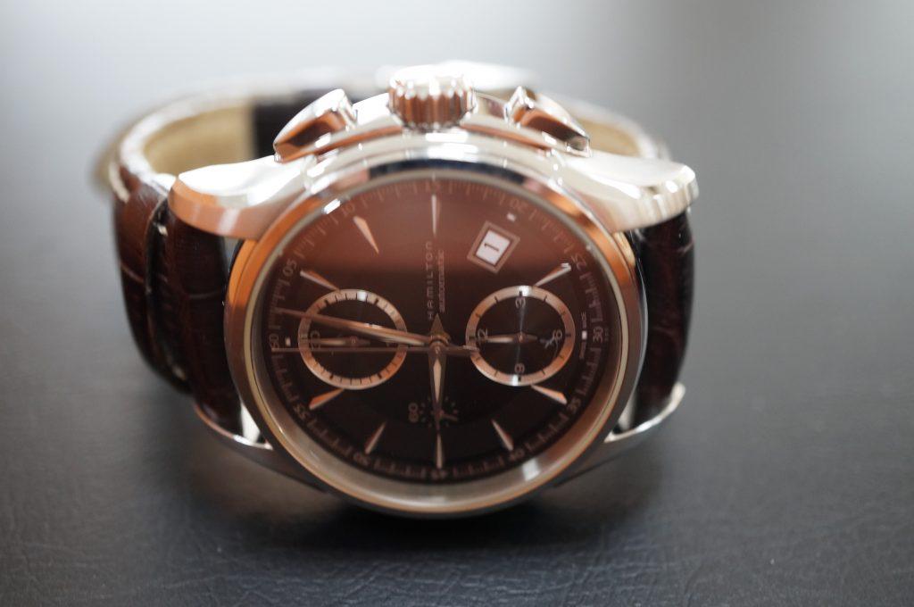 No.874  HAMILTON (ハミルトン) 自動巻き腕時計を修理しました