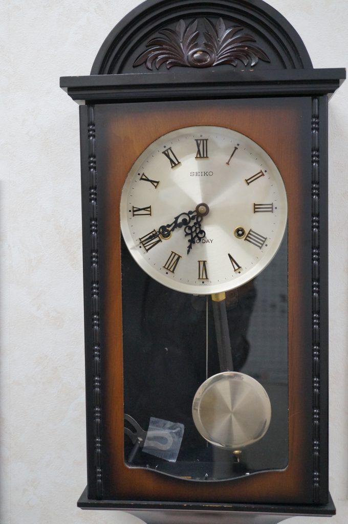 No.870  SEIKO(セイコー)ゼンマイ式 掛け時計を修理しました