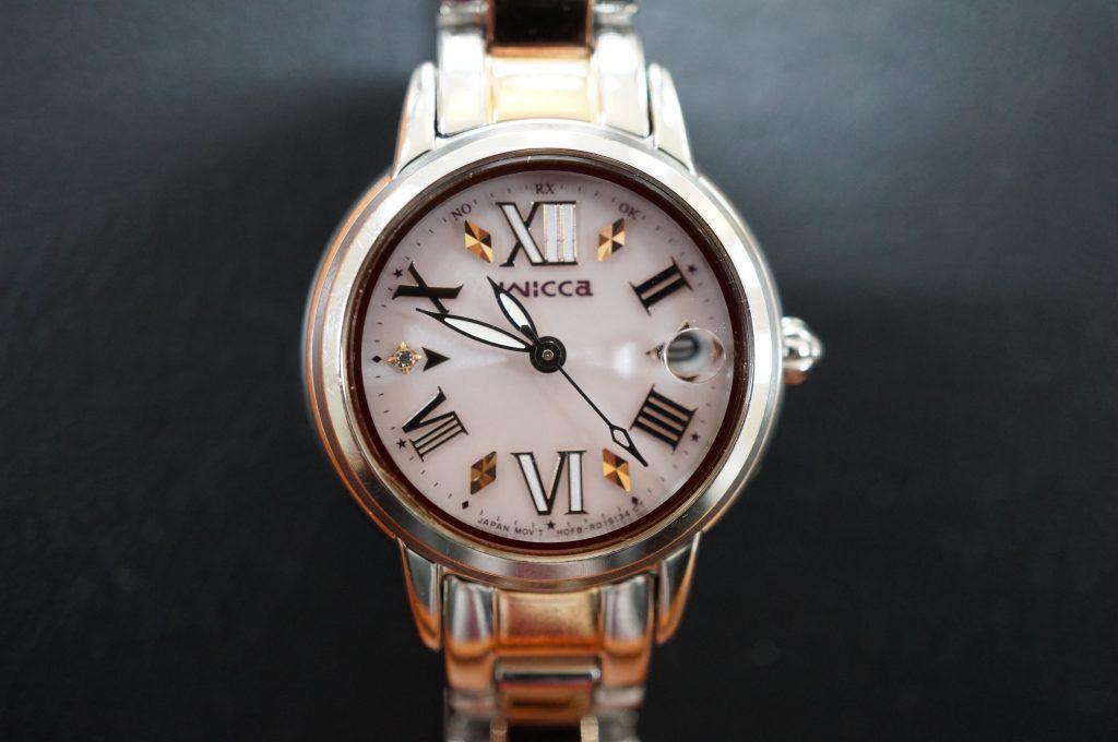 No.894  wicca  (ウィッカ) クォーツ腕時計を修理しました