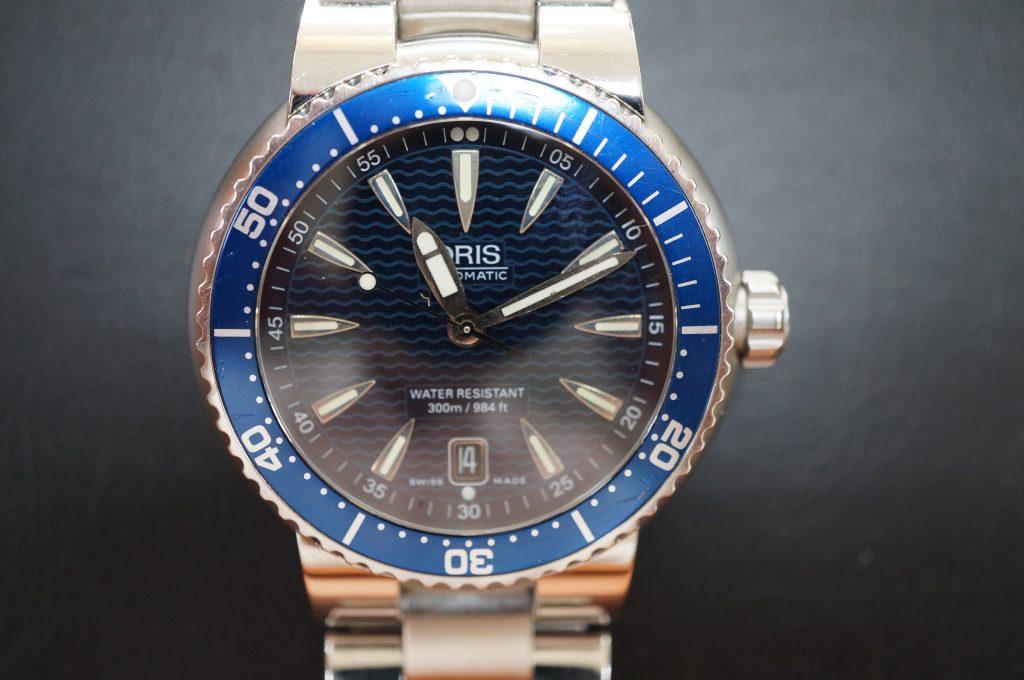 No.893  ORIS (オリス) 自動巻き腕時計を修理しました