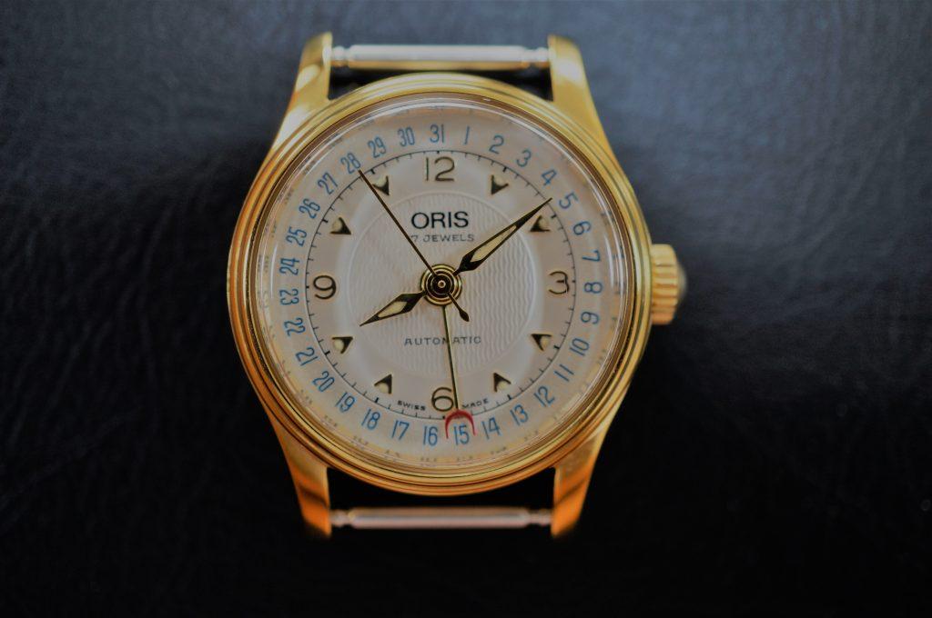 No.892  ORIS (オリス) 自動巻き腕時計を修理しました