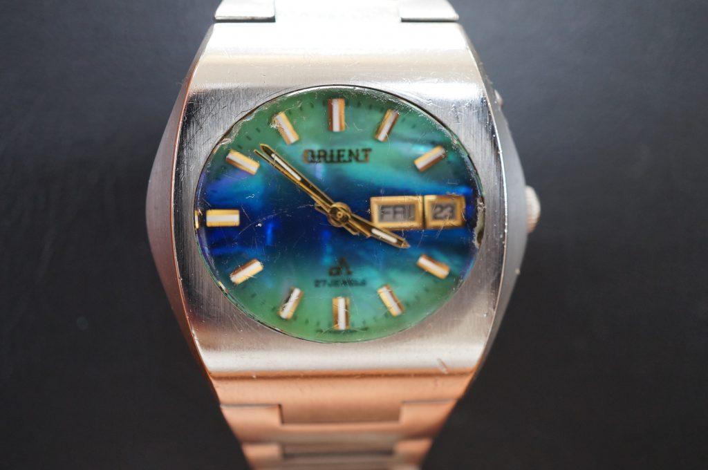 No.886  ORIENT (オリエント) 自動巻き腕時計を修理しました
