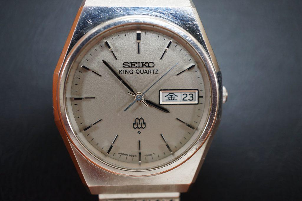 No.885  SEIKO  (セイコー) クォーツ腕時計を修理しました