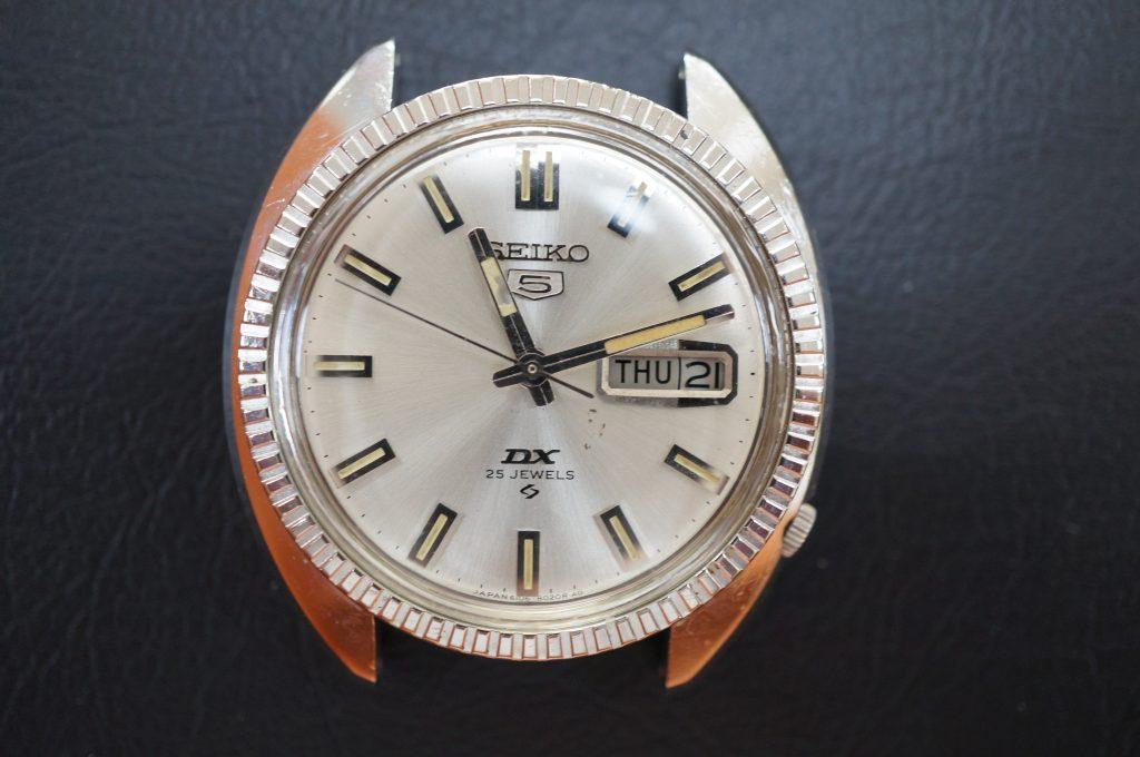 No.884  SEIKO 5 (セイコー) 自動巻き腕時計を修理しました