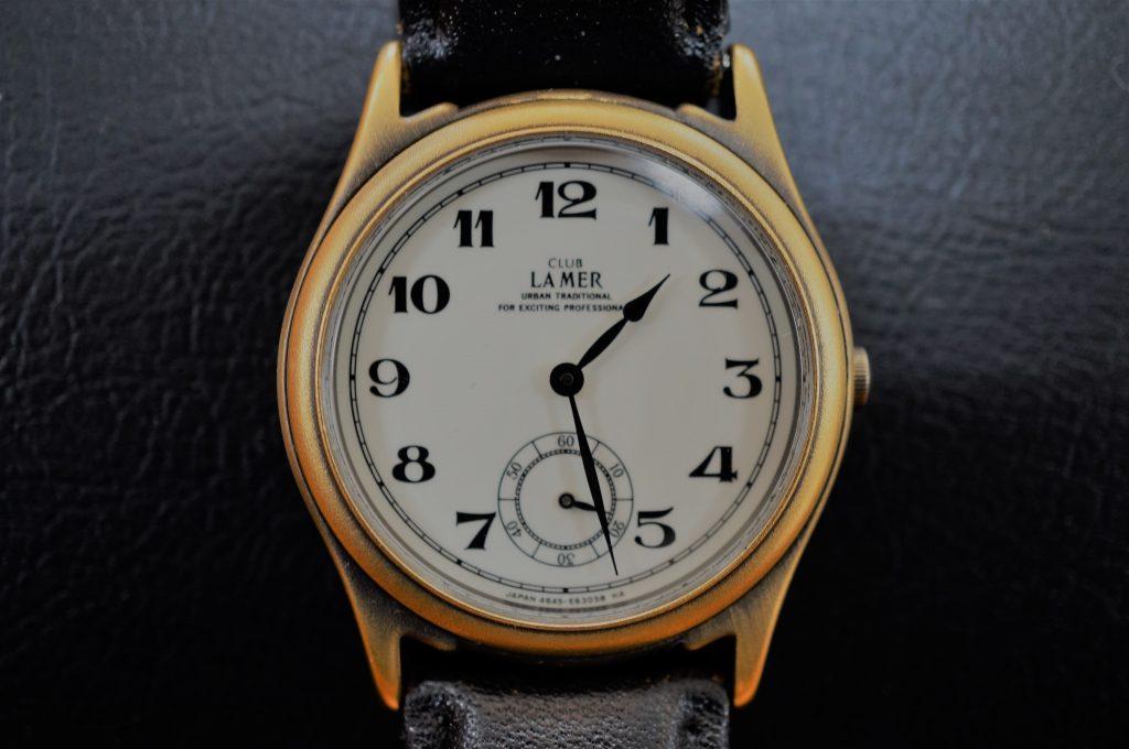 No.890  CITIZEN CLUB LA MER  (シチズン) クォーツ腕時計を修理しました