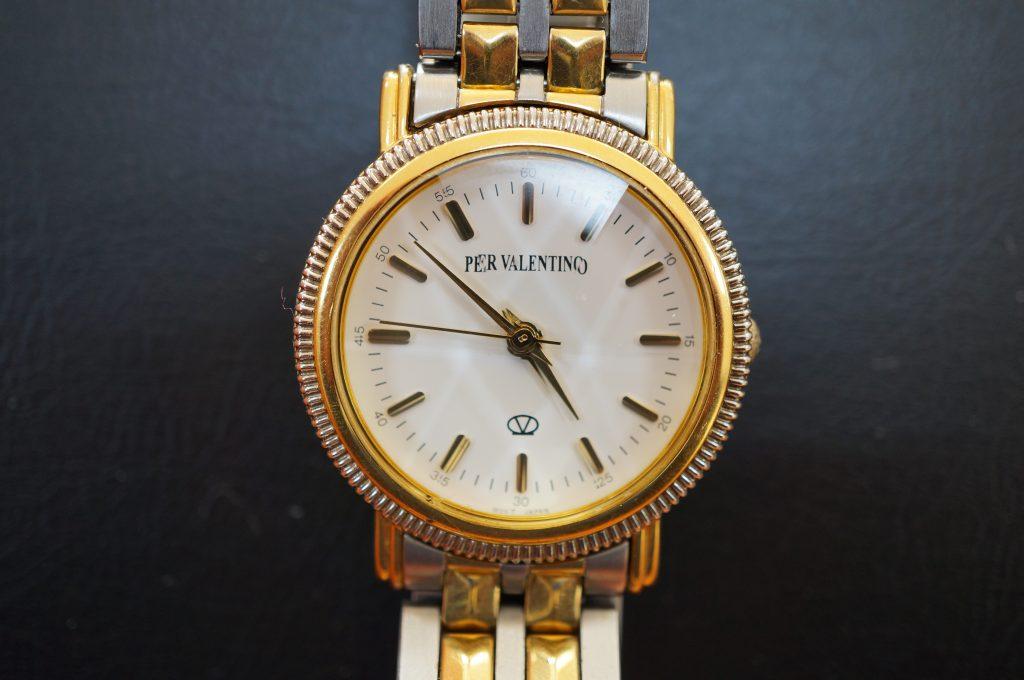 No.901  PER VALENTINO  (バレンチノ) クォーツ腕時計を修理しました