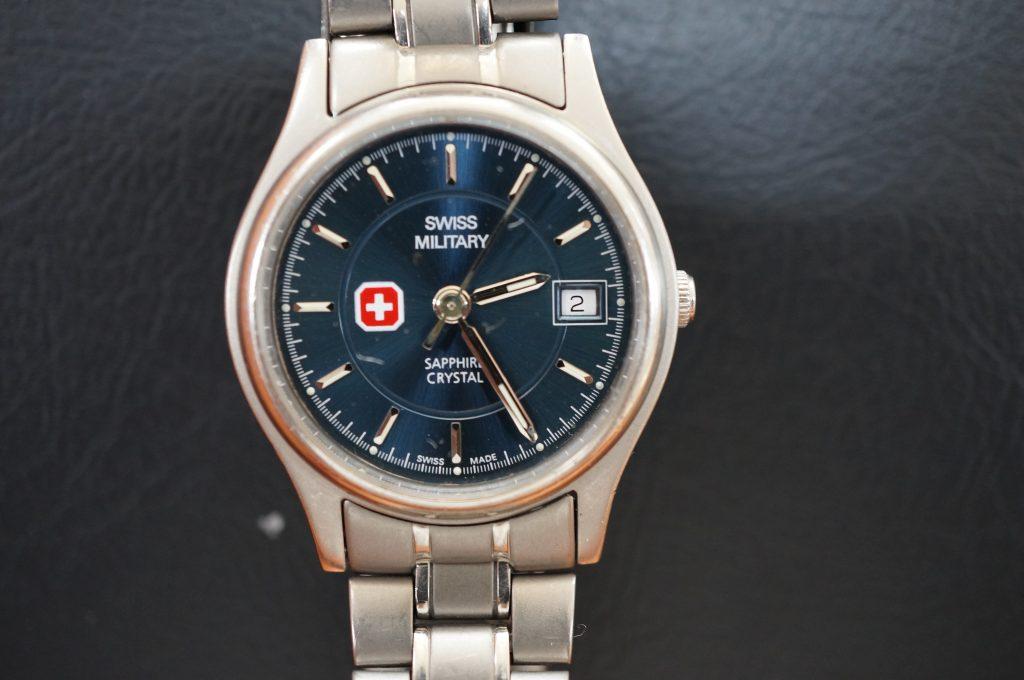 No.900  SWISS MILITARY  (スイスミリタリー) クォーツ腕時計を修理しました