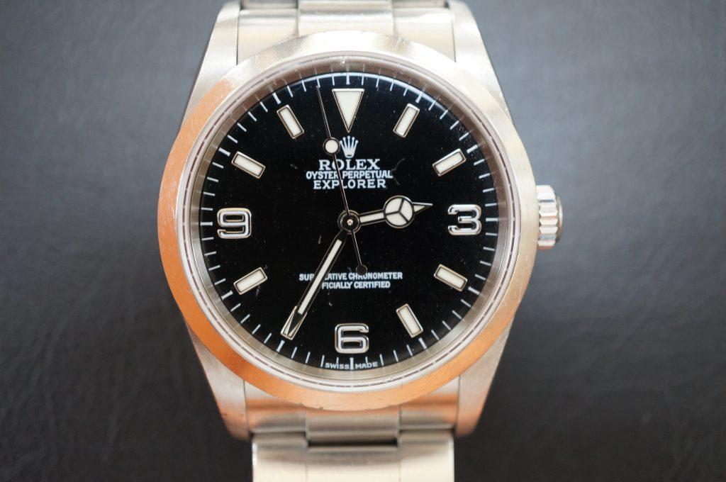 No.899  ROLEX (ロレックス エクスクローラ1) 自動巻き腕時計を修理しました