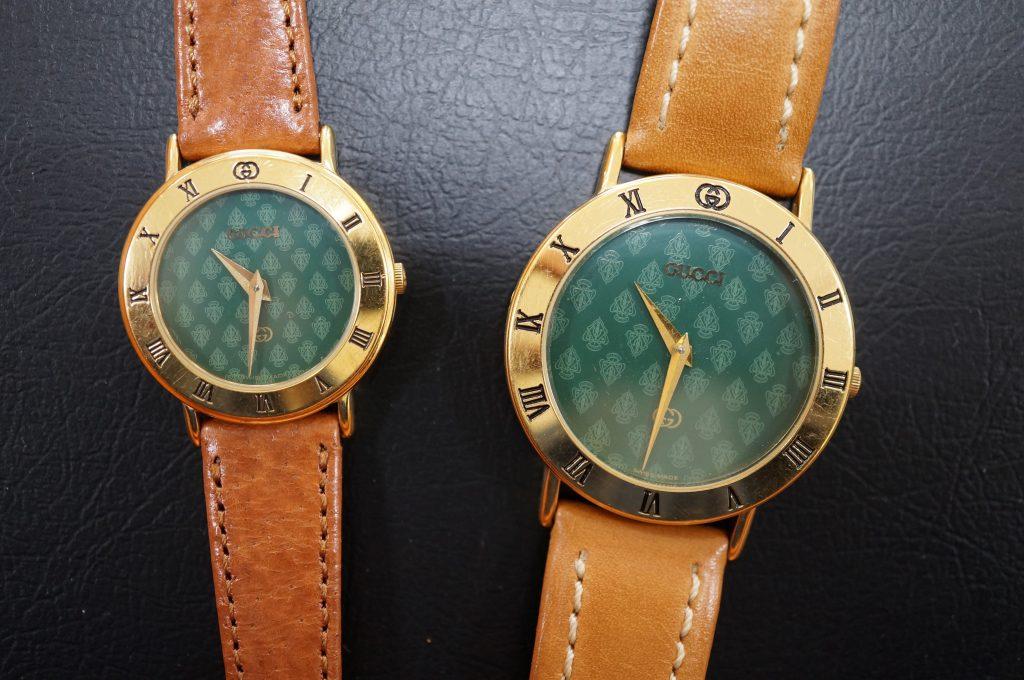 No.914  GUCCI (グッチ) クォーツ腕時計を修理しました