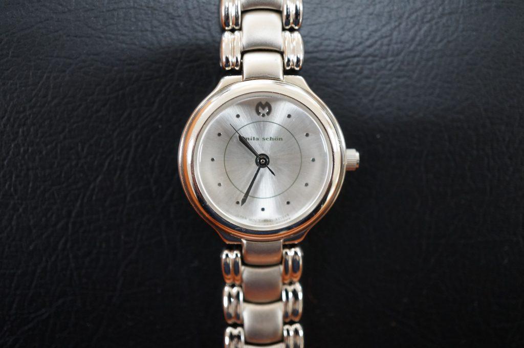 No.912  Milaschon  (ミラショーン) クオーツ腕時計を修理しました