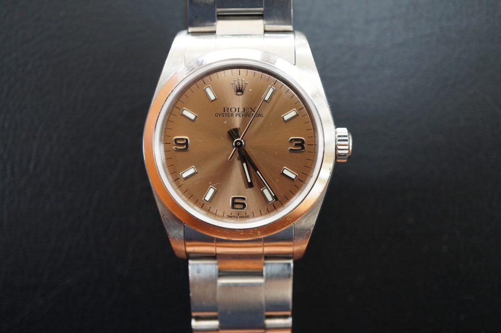 No.911  ROLEX (ロレックス ) 自動巻き腕時計を修理しました