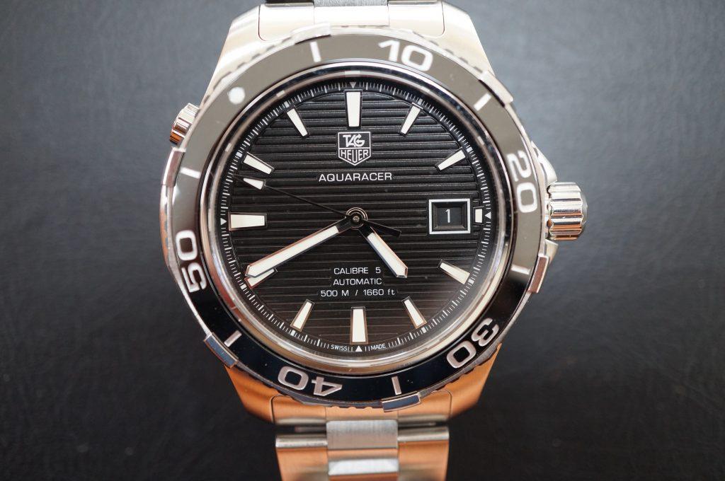 No.910  TAG HEUER (タグホイヤー) 自動巻き腕時計を修理しました