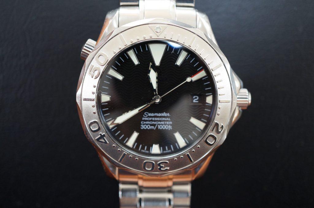 No.909  OMEGA Seamaster (シーマスター) 自動巻き腕時計を修理しました