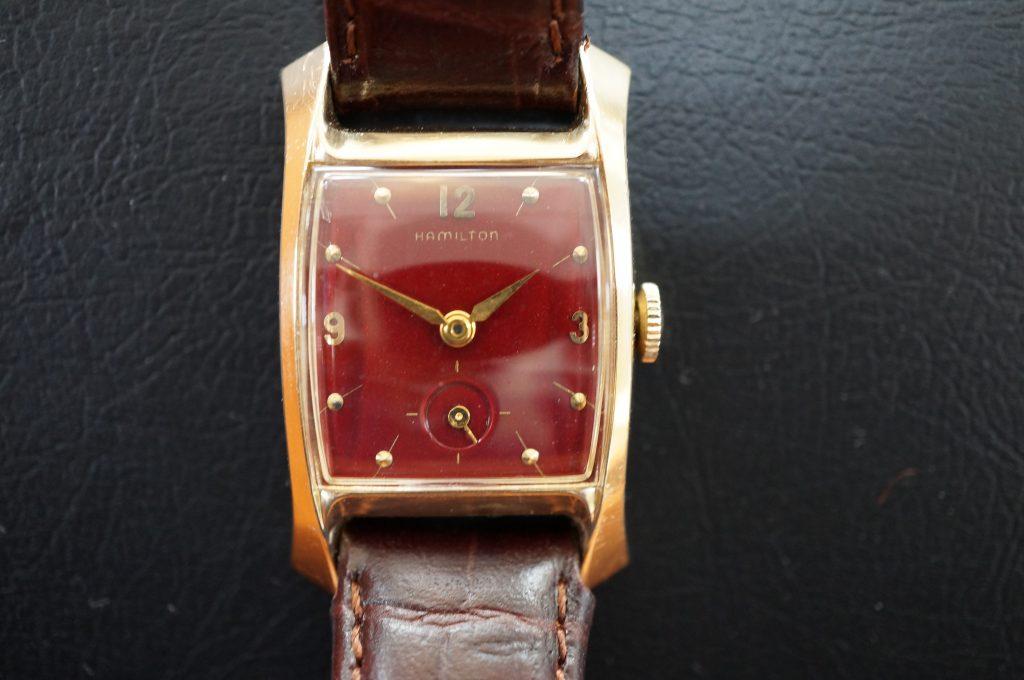 No.908  HAMILTON (ハミルトン) 手巻き腕時計を修理しました
