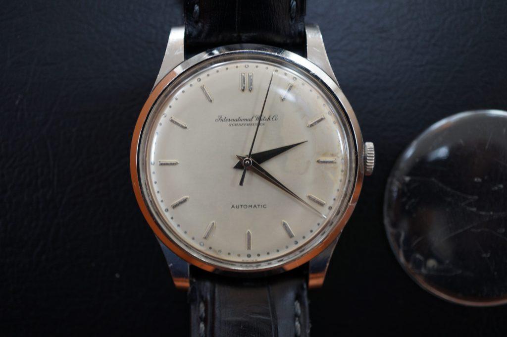 No.903  IWC  (インターナショナル・ウォッチ・カンパニー) 手巻き時計を修理しました