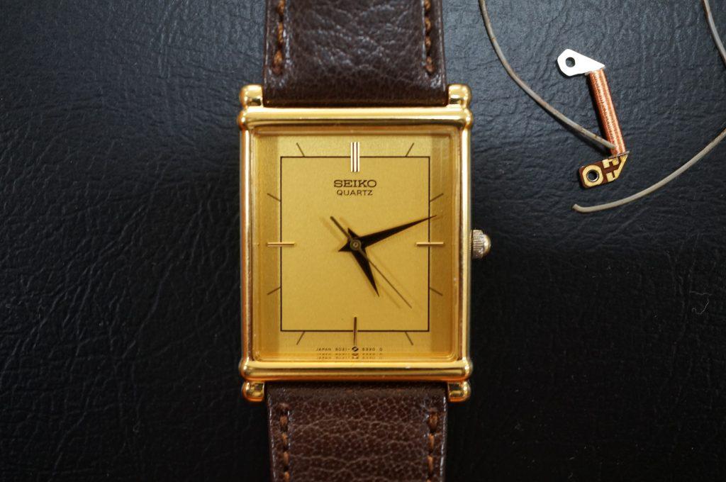 No.929  SEIKO  (セイコー) クォーツ腕時計を修理しました