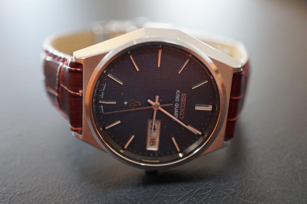 No.924  SEIKO KS (キングセイコー) クオーツ式腕時計を修理しました