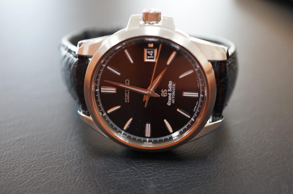 No.923  SEIKO GS (グランドセイコー) 自動巻き腕時計を修理しました