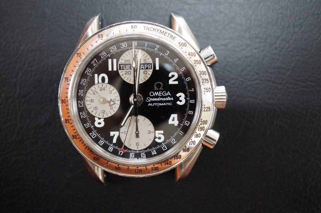 No.931  OMEGA Speedmaster (オメガスピードマスター) 自動巻き腕時計を修理しました
