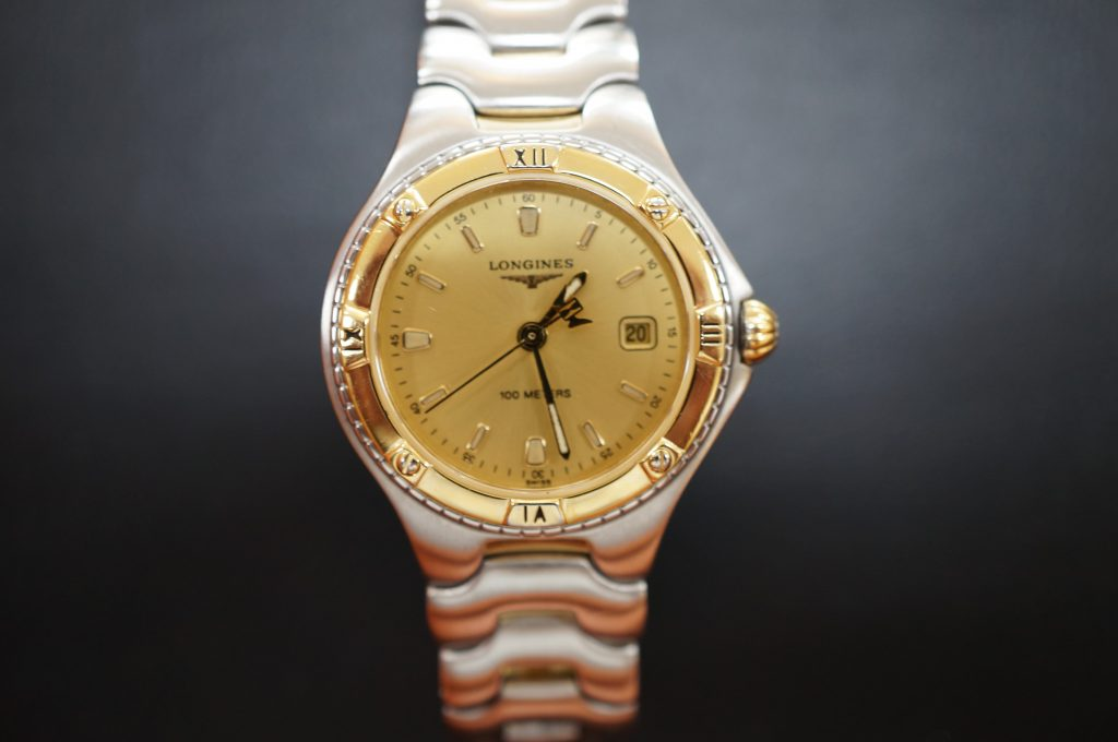 No.921  LONGINES (ロンジン) クォーツ腕時計を修理しました