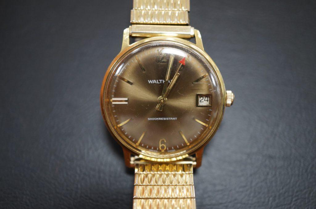 No.936  WALTHAM(ウオルサム)手巻き時計を修理しました
