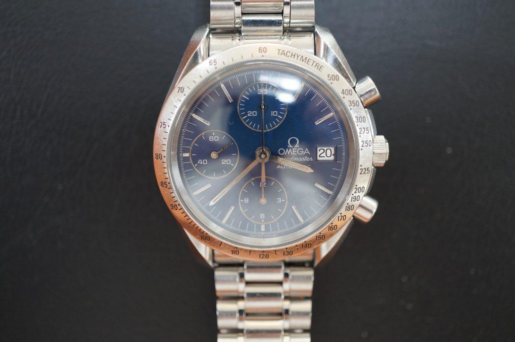 No.944  OMEGA Speedmaster (オメガスピードマスター) 自動巻き腕時計を修理しました