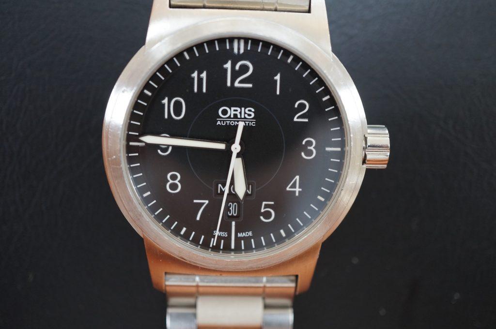 No.943  ORIS (オリス) 自動巻き腕時計を修理しました