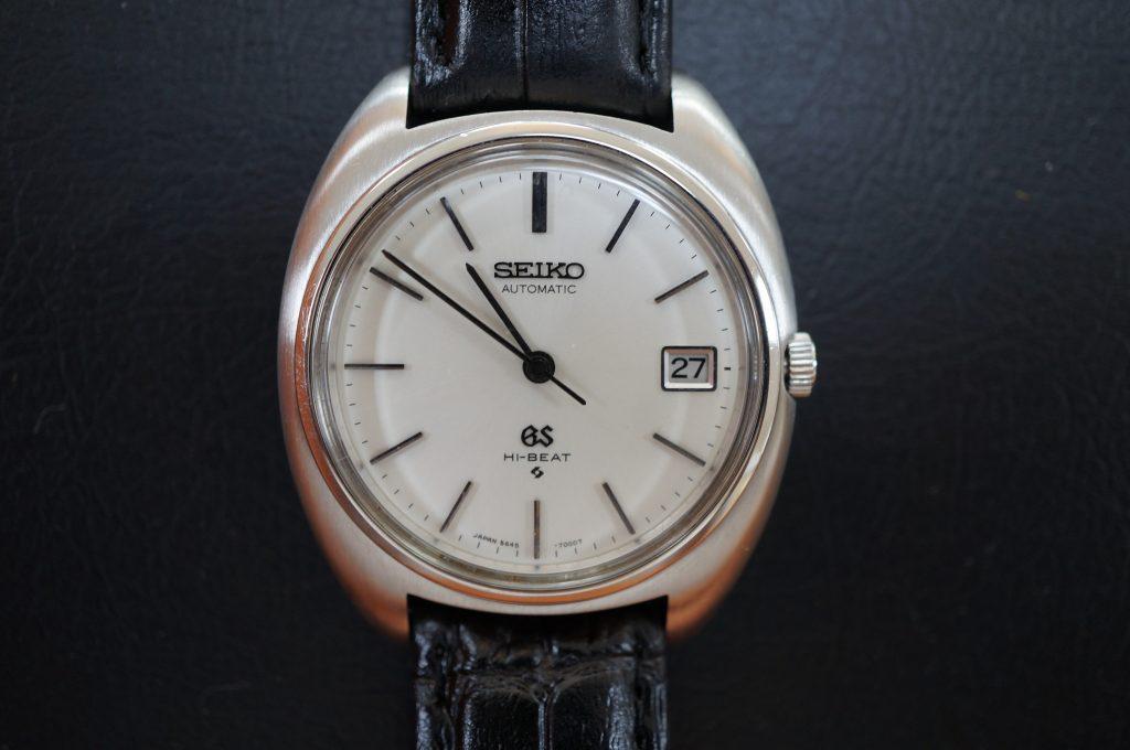 No.942  SEIKO GS (グランドセイコー) 自動巻き腕時計を修理しました