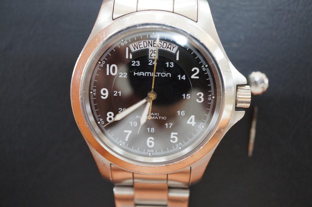 No.940  HAMILTON (ハミルトン) 自動巻き腕時計を修理しました