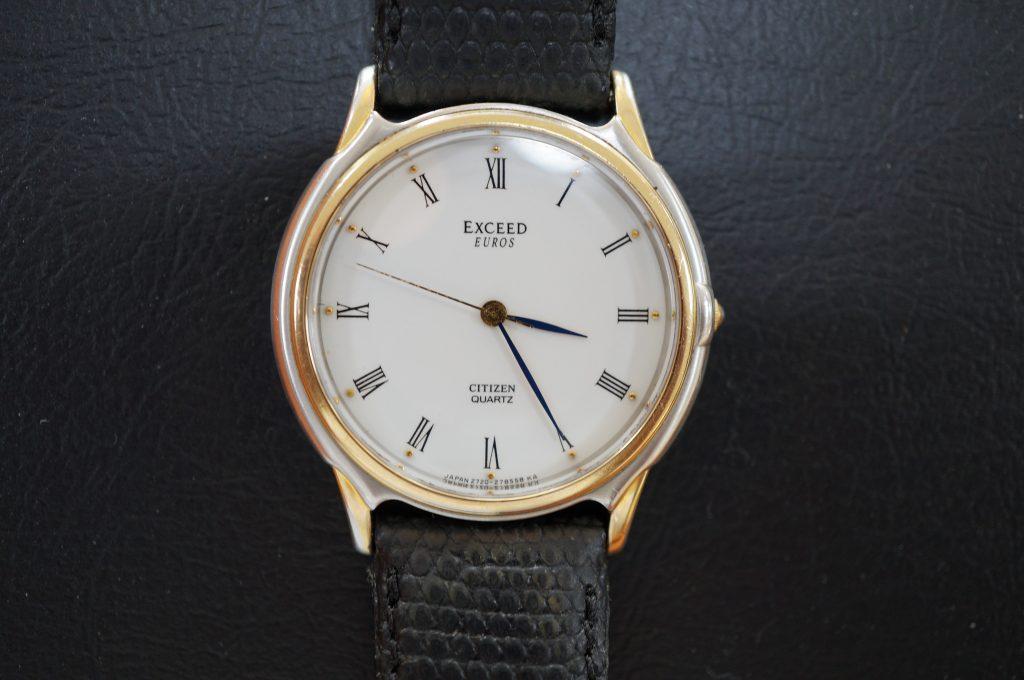 No.939  CITIZEN EXCEED (シチズン エクシード ) クォーツ腕時計を修理しました