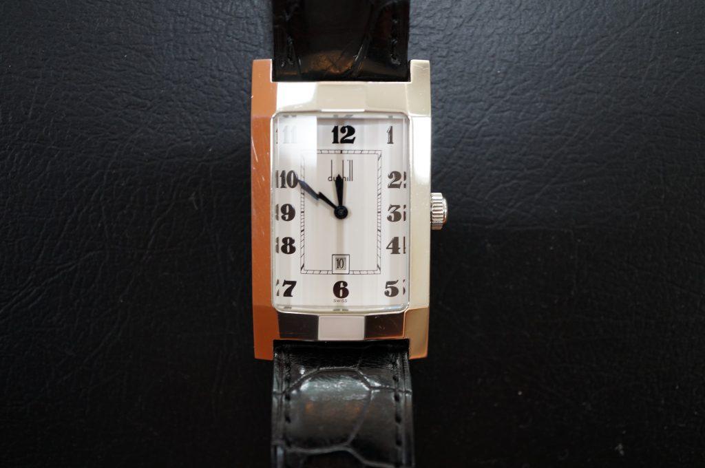 No.971  dunhill (ダンヒル) クォーツ腕時計を修理しました