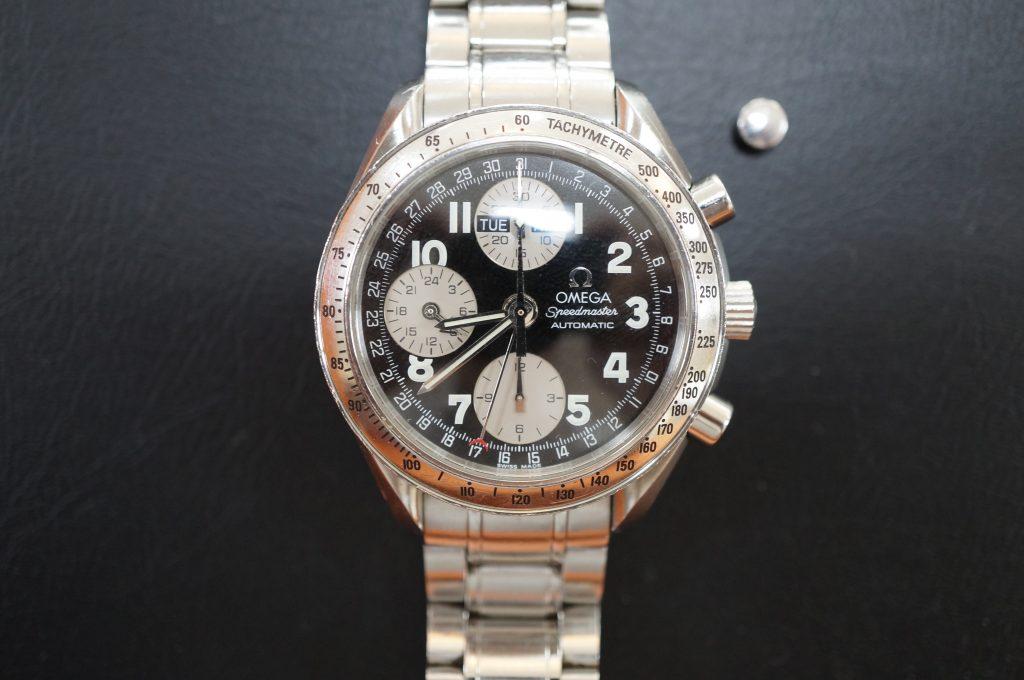 No.967  OMEGA Speedmaster (オメガスピードマスター) 自動巻き腕時計を修理しました