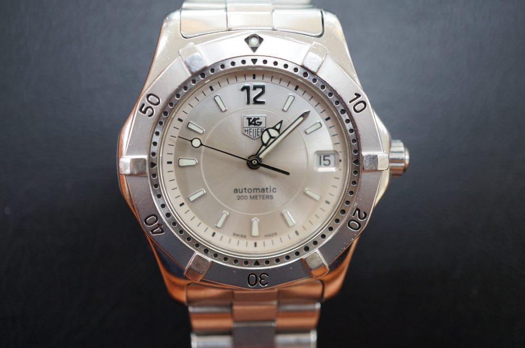 No.949  TAG HEUER (タグホイヤー) 自動巻き腕時計を修理しました