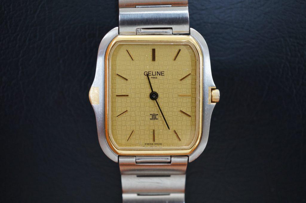 No.946  CELINE (セリーヌ ) クォーツ腕時計を修理しました