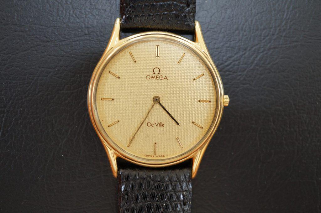 No.990  OMEGA De Ville(オメガ デ・ビル) クォーツ腕時計を修理しました