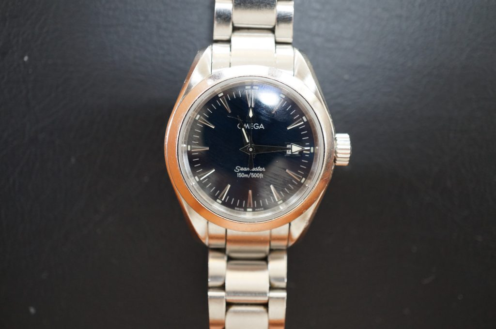 No.985  OMEGA (オメガ) クォーツ腕時計を修理しました