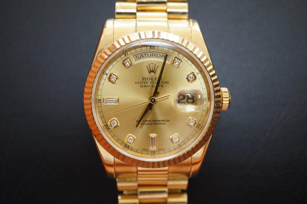 No.983  ROLEX (ロレックス ) 自動巻き腕時計を修理しました