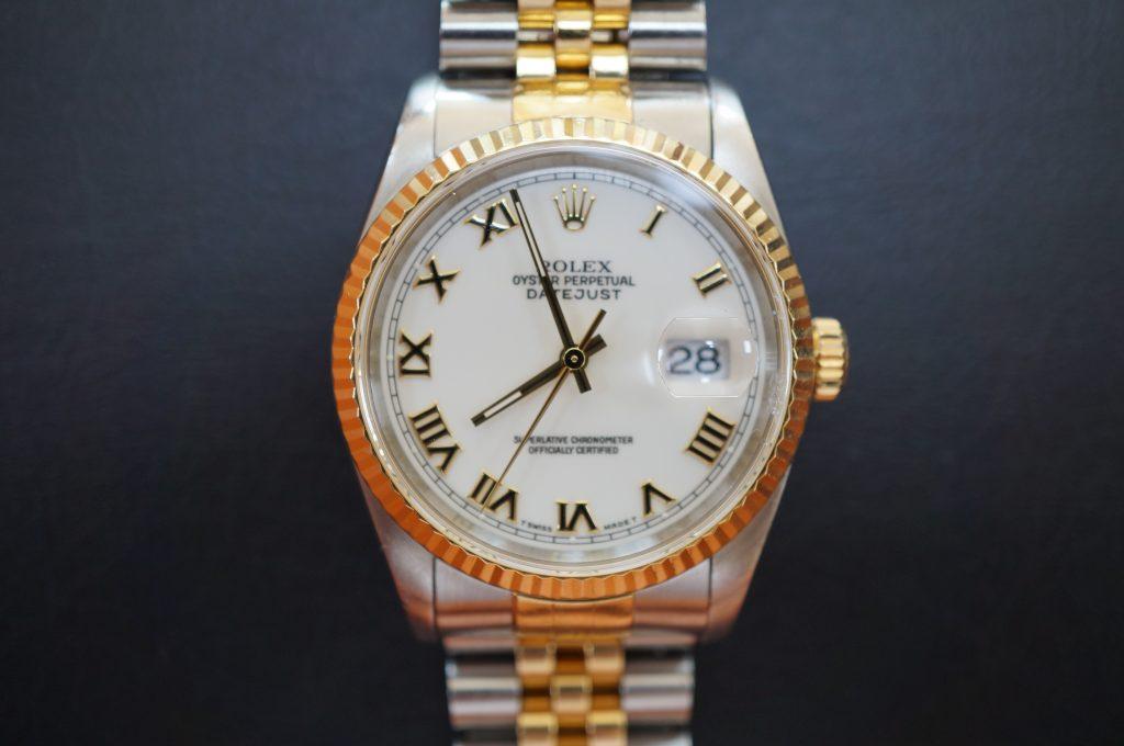 No.982  ROLEX (ロレックス ) 自動巻き腕時計を修理しました
