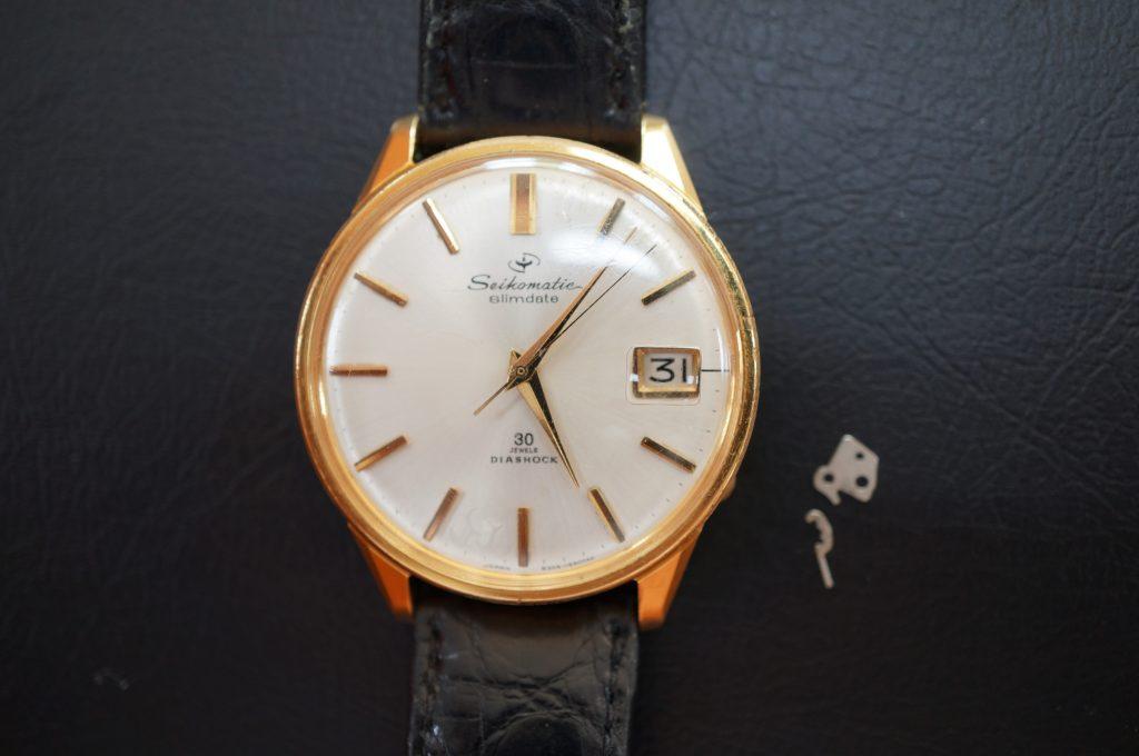 No.981  SEIKO  (セイコー) 自動巻き腕時計を修理しました