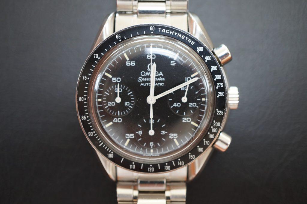 No.980  OMEGA Speedmaster (オメガスピードマスター) 自動巻き腕時計を修理しました