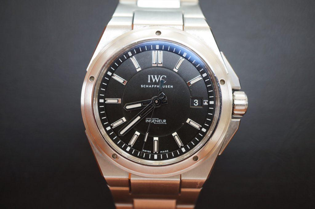 No.979  IWC  (インターナショナル・ウォッチ・カンパニー) 手巻き時計を修理しました